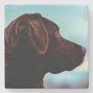 Labrador At Dusk Stone Coaster