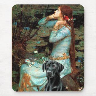 Labrador (black 1) - Ophelia Mouse Pad