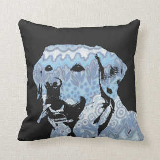 Labrador Blues Cushion
