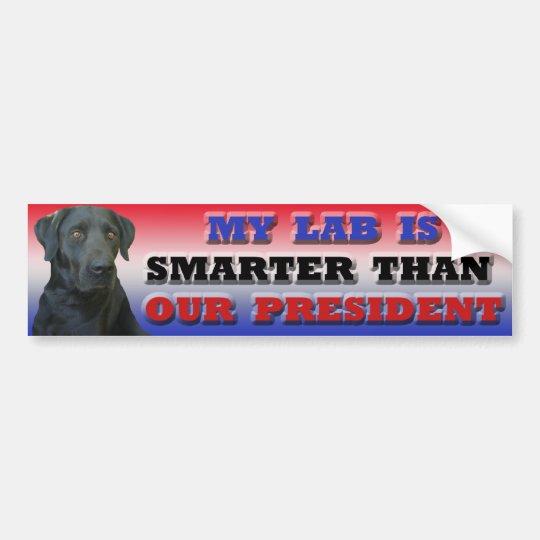 Labrador bumper sticker