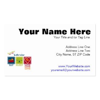 Labrador Double-Sided Standard Business Cards (Pack Of 100)