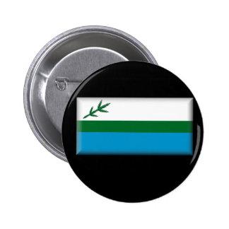 Labrador (Canada) Flag 6 Cm Round Badge