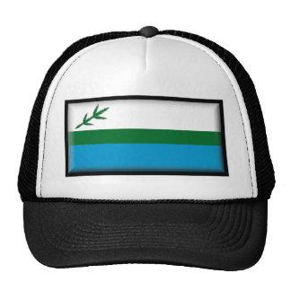 Labrador (Canada) Flag Mesh Hats