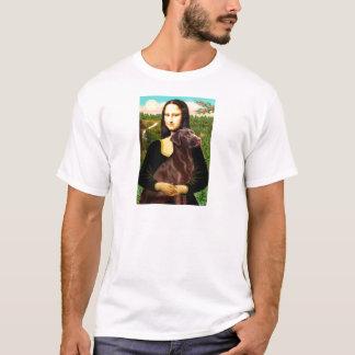 Labrador (Chcolate) - Mona Lisa T-Shirt