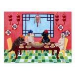 Labrador Chinese Restaurant Postcard