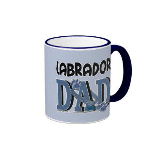 Labrador DAD Ringer Coffee Mug