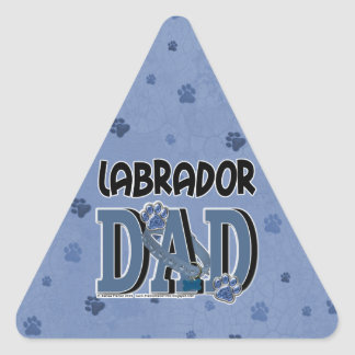 Labrador DAD Triangle Sticker