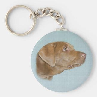 Labrador Dog Keychain