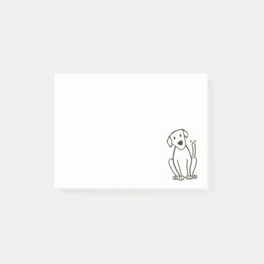 Labrador Dog Post-It Notes