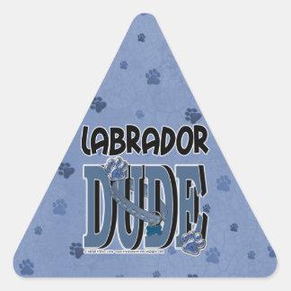 Labrador DUDE Sticker