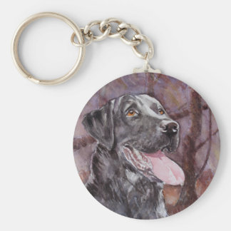 Labrador. Gun Dog Key Ring