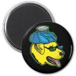 Labrador Hangover Gear 6 Cm Round Magnet