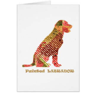 LABRADOR : Majestic Elegant Dog Card