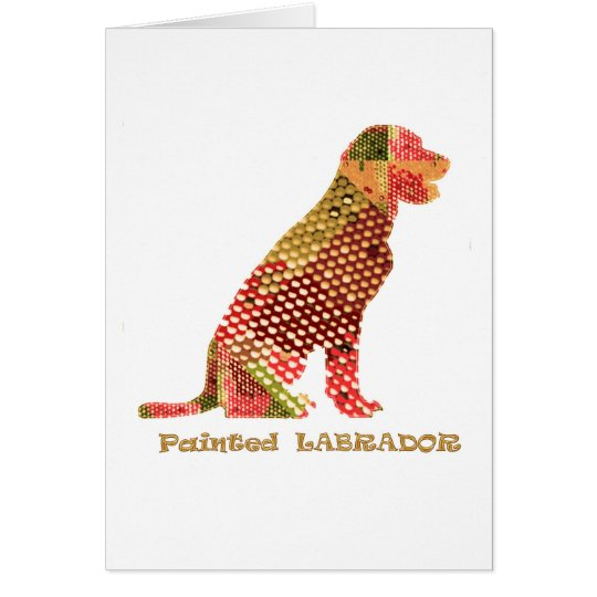 LABRADOR : Majestic Elegant Dog Card