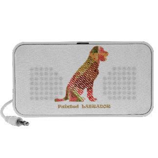 LABRADOR : Majestic Elegant Dog iPhone Speaker