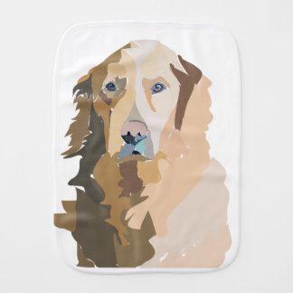Labrador Mania Burp Cloth