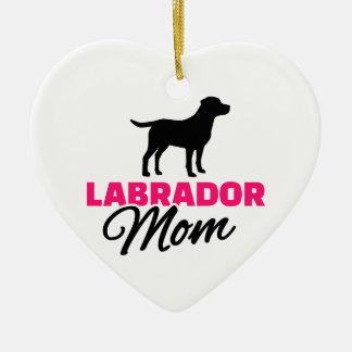 Labrador Mom Christmas Ornament