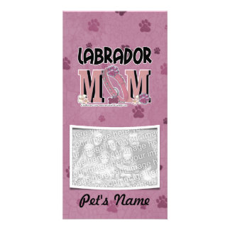 Labrador MOM Photo Card Template