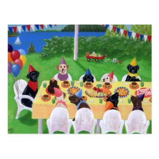 Labrador Party Post Cards