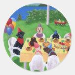 Labrador Party Stickers
