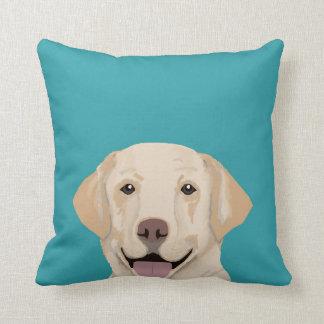 Labrador pillow - sweet lab dog pillow