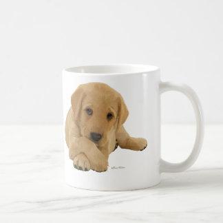 Labrador Pup Basic White Mug