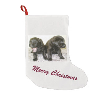 Labrador Puppies Christmas Stocking