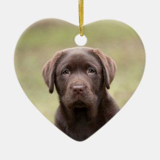 Labrador Puppy Christmas Ornament