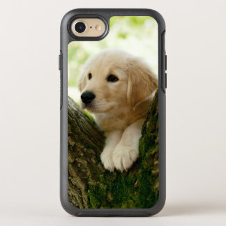 Labrador Puppy Sitting In A Woodland Setting OtterBox Symmetry iPhone 7 Case