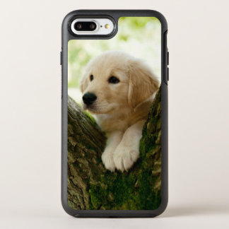 Labrador Puppy Sitting In A Woodland Setting OtterBox Symmetry iPhone 8 Plus/7 Plus Case