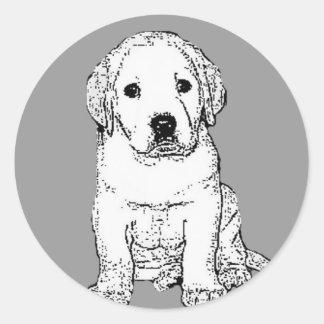 Labrador Puppy stickers