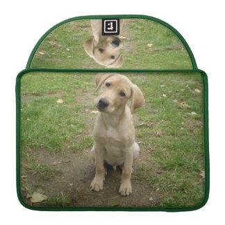 Labrador Puppy Tilts Head Sleeve For MacBooks