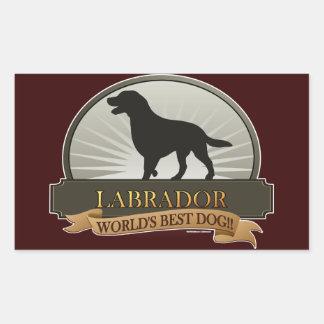 Labrador Rectangular Sticker