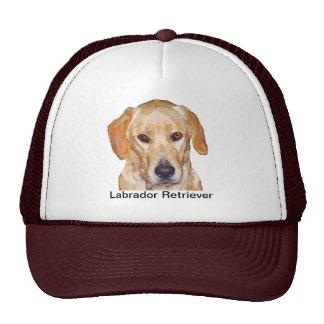 "Labrador ""Reggie"" Painting Baseball Cap"