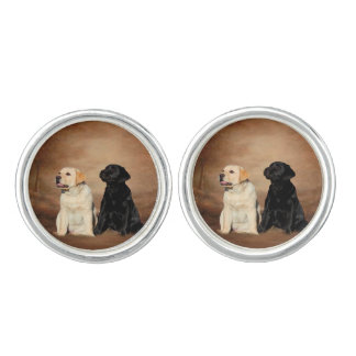 Labrador Retrieve Cufflinks