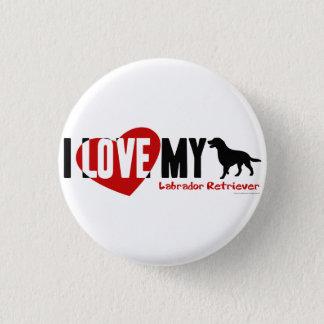 Labrador Retriever 3 Cm Round Badge