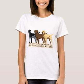 Labrador Retriever 3 colors T-Shirt
