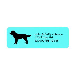 Labrador Retriever Address Labels
