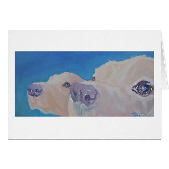 Labrador Retriever Art Card