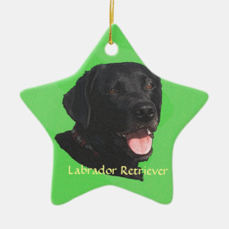 Labrador Retriever Art Christmas Ornament