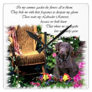Labrador Retriever Art Gifts Wallclock