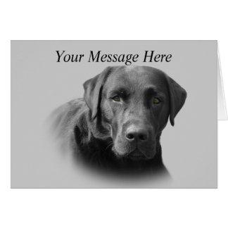 Labrador Retriever Awesome Greeting Card