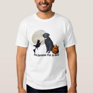 Labrador Retriever Black Ladies T-Shirt