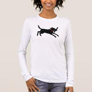 Labrador Retriever (Black) Long Sleeve T-Shirt