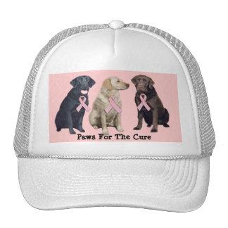 Labrador Retriever Breast Cancer Hat