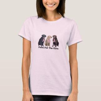Labrador Retriever Breast Cancer Ladies Shirt
