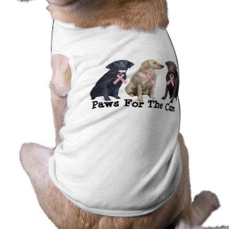 Labrador Retriever Breast Cancer Pet Clothing