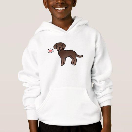 Labrador Retriever Chocolate Brown Love
