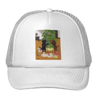 Labrador Retriever Christmas Tree Mesh Hats