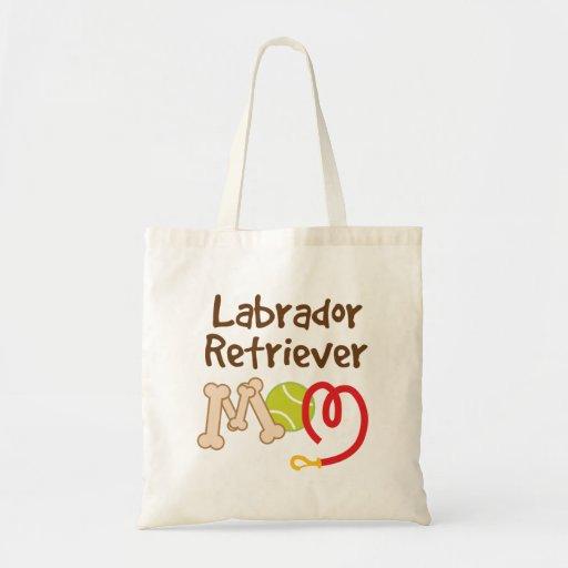 Labrador Retriever Dog Breed Mom Gift Canvas Bags